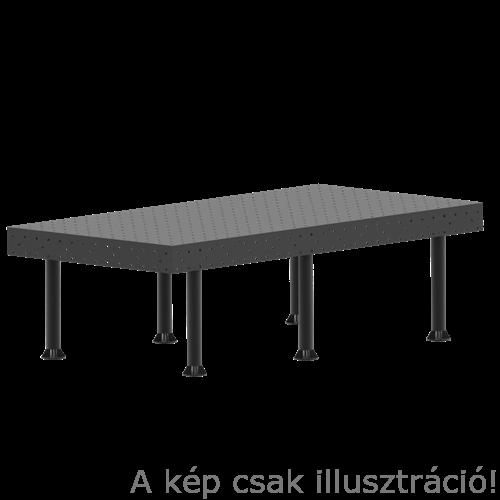 Vector Dragon hegesztő leszorító asztal VS-WT Lv8mm 28mm furatok 2800x1000x8mm 6db lábbal