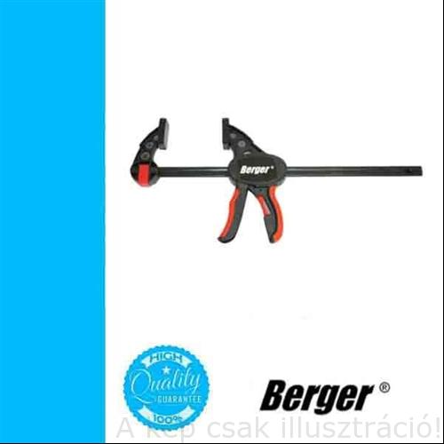 Szorító egykezes nyílás: 600mm, BERGER szorítóerő:150kg, cikkszám:041601-0120