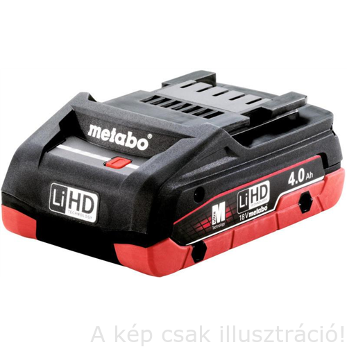 METABO Akku 18V 4.0 Ah LiHD  625367000