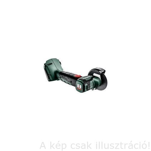METABO CC 18 LTX BL akkus sarokcsiszológép 76mm-es ,Metaloc hordtáska,2+2+1 daraboló és csisz.tárcsa,akku töltő nélkül(600349840)