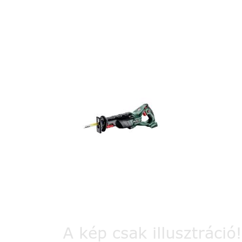 METABO SSE 18 LTX akkus kardfűrészgép, akku, töltő nélkül Metaloc kofferben 602267840