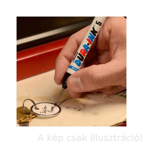 Jelölő Markal Dura-Ink 05 piros/red Drill Hole Marker, lyukba jelölő 96522