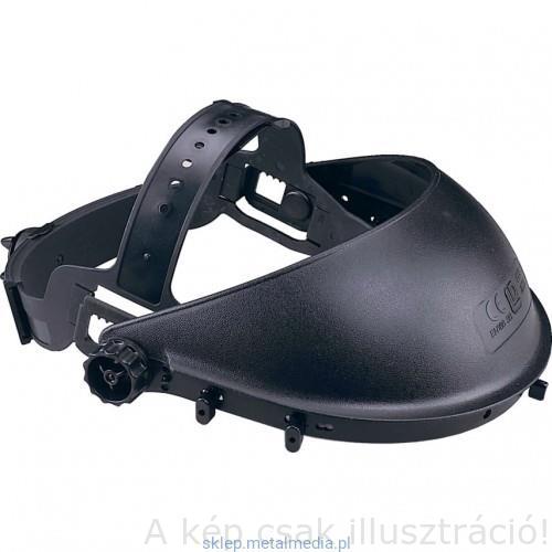 Muv. arcvédő álarchoz csak fejkosár, fekete műanyag 5 elfordítható rögzítővel PW99 előtét plexihez