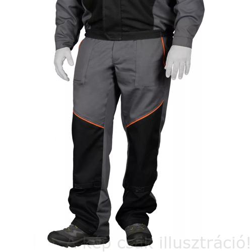 Munkavédelmi derekasnadrág hegesztéshez IWELD WELDINGPRO Szürke XL,XXL 50WLDNGPRTRSRSX